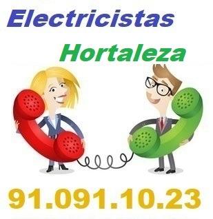 Telefono de la empresa electricistas Hortaleza